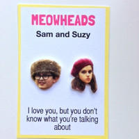 Moonrise Kingdom // Sam &amp; Suzy // Wes Anderson earrings