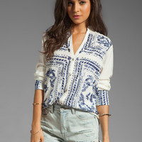 Insight Bandana Shirt in Almond from REVOLVEclothing.com