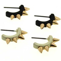ROMWE | &quot;Cats&#x27; Claw&quot; Stud Earrings, The Latest Street Fashion