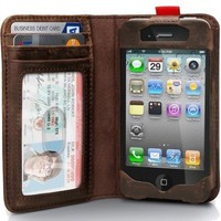Readbook Classic Wallet Case for iPhone 4 / 4S