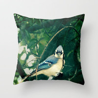 I'd Be a Bird... Throw Pillow by RDelean