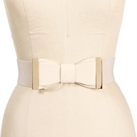 Ivory Bow Belt