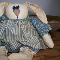 50 off  Chubby Bunny Primitive Spring Doll by MondaysChildPrims