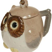 Owl Have a Small Tea Covered Mug | Mod Retro Vintage Kitchen | ModCloth.com