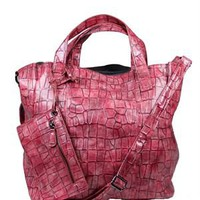 Tantra Crocodile Skin Pattern Tote - Spanish Summer Accessories by Tantra - Modnique.com