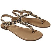 Target : Women&#x27;s Merona Erin Braided Upper Sandal - Leopard : Image Zoom