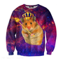 Mr. GUGU & Miss GO :: OUTERWEAR :: King hamster sweater