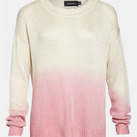 MINKPINK 'Melting Moments' Dip Dye Sweater | Nordstrom