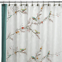 Lenox? Simply Fine? Chirp? Fabric Shower Curtain