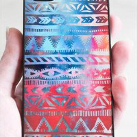 Tribal iPhone 5 Case - Galaxy Print iPhone 5 Case from csera