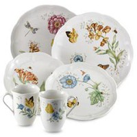 Lenox? Butterfly Meadow? 18-Piece Dinnerware Set and Open Stock