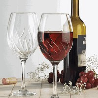 Aerating Wine Glass / Set of 2 - The Afternoon