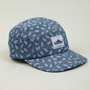 Men&#x27;s Leaf Print Casper Five-Panel Cap