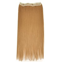 "Fashionable 23"" Straight Full Head Clip in Hair Extensions - Blonde"