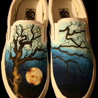 Custom Vans-- Oak Tree