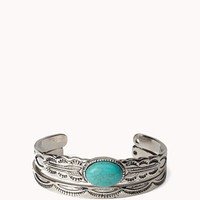 Western Stone Cuff Set | FOREVER 21 - 1049256984