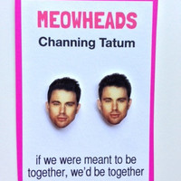 Channing Tatum earrings