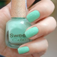 Tiffany Blue Sweet Color 12 ml Nail Polish