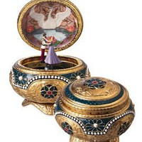 Anastasia - Alexandra &amp; Nicholas - Hinged Trinket Box: Home &amp; Kitchen