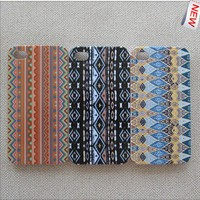 red blue black Tribal Hybrid Impact Case for iphone 4/4s