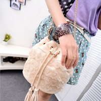 Sweet Lace Bucket Bag for Summer