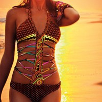 Agua Bendita Swimwear 'Bendito Eighties' Monokini Swimsuit by Agua Bendita 2013 | The Orchid Boutique