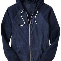Men&#x27;s Raglan-Sleeve Jersey Hoodies | Old Navy