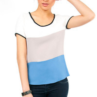 Tribar Short Sleeve Blouse $38