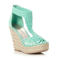 Madden Girl Mint 'Espadrille' Wedge- at Debenhams Mobile