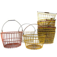 Three Potato Four - Colored Wire Egg Baskets