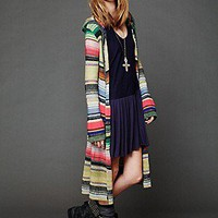 Free People  Hooded Color Spectrum Cardigan at Free People Clothing Boutique