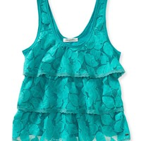 Lace Cupcake Tank - Aeropostale