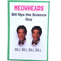 Bill Nye the Science Guy Stud Earrings