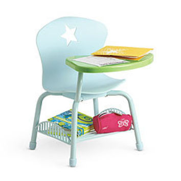 American Girl Furniture School Desk Set From American Girl