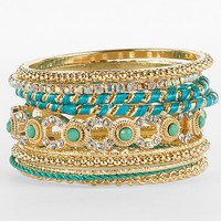 Daytrip Bright Bangle Bracelet Set - Women's Accessories | Buckle