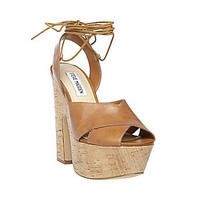 Steve Madden - GIMMEE COGNAC LEATHER