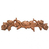 Shabby Furniture Applique A1025 Fancy French Chic Roses Pack of 2