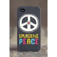 Natural Life Iphone 4/4s Case - Imagine Peace: Cell Phones & Accessories