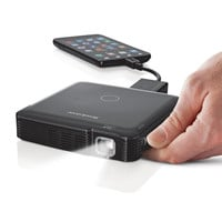 Compact 85-Lumen Pocket Projector Lets You Take the Big Screen with YouBuy Now!