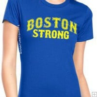 BOSTON STRONG T-shirt Marathon Womens Running 10.95 BOSTON STRONG T-shirt Marathon Womens Running 10.95 [BOSOX1] - $10.95 : Signature T-Shirts, Funny T-Shirts, Vintage Cool Graphic Tee Shirts, Retro Logo, Twilight Shirts