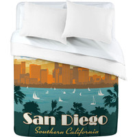 DENY Designs Home Accessories | Anderson Design Group San Diego Duvet Cover