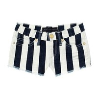 Girls Awning Stripe Short