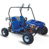 Go Kart 125cc Semi Auto with Reverse New Look : Amazon.com : Automotive
