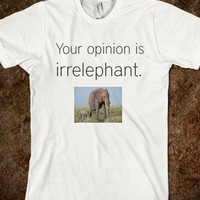 IrrELEPHANT - The Average Unsocial American - Skreened T-shirts, Organic Shirts, Hoodies, Kids Tees, Baby One-Pieces and Tote Bags