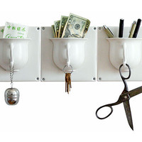 TEA CUP HOOK | Tea Cup key holder and organizer | UncommonGoods
