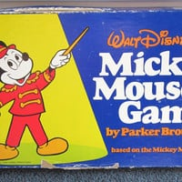 Walt Disney&#x27;s Mickey Mouse Game, based on the Club Song, by Parker Brothers, 1976