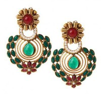 Aditi Earrings - INDIAN BAZAAR Aditi Earrings