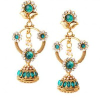Bhavna Earrings - INDIAN BAZAAR Bhavna Earrings