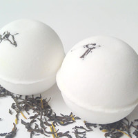 Earl Grey Tea Bath Bomb by ZEN-ful, Bath Bombs, Bath Fizzy, Gift Ideas, Bath Bomb 5.5 oz