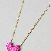 Karmaloop.com - The Pixelated Heart Necklace
